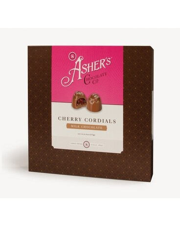Asher's Cherry Cordials Gift Basket