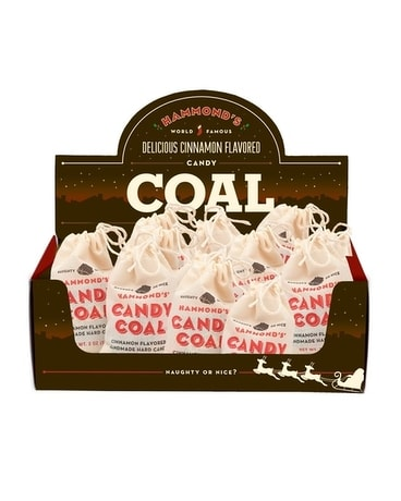 Hammonds Candy Coal Gift Basket