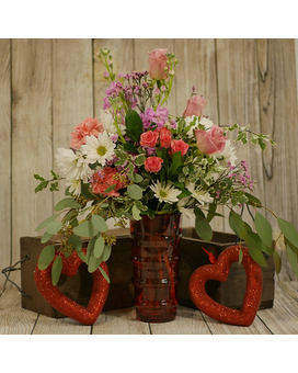 Romantic Days Flower Arrangement