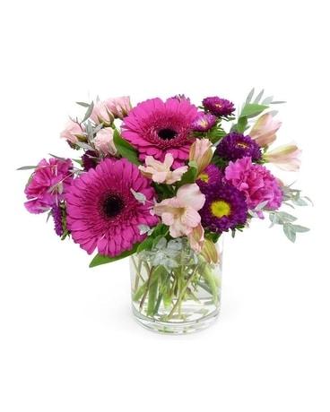 Perfectly Pink Flower Arrangement
