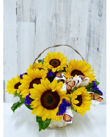 Sunny Delight Flower Arrangement
