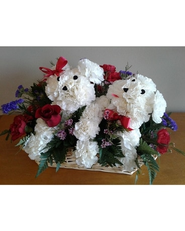 Puppy Love in Charlotte NC - Starclaire House Of Flowers Florist