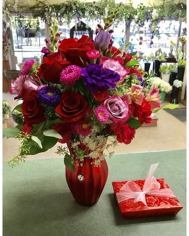 Everlasting Romance Flower Arrangement