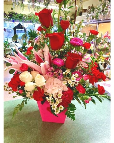 After Your Heart Flower Arrangement