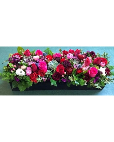 Garden Box Flower Arrangement