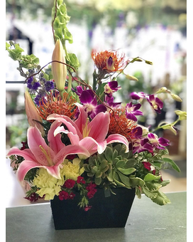 exotic arrangement Flower Arrangement