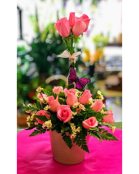 THE GRACE ARRANGEMENT Flower Arrangement