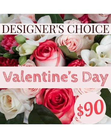 Valentine's Day- Designer's Choice Flower Arrangement
