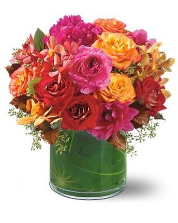 Hot Couture Flower Arrangement