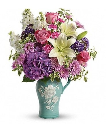 Teleflora's Natural Artistry Bouquet Flower Arrangement