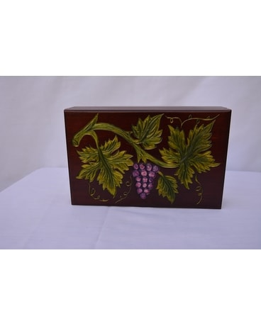 Jewelry Box with Grapevine Gifts