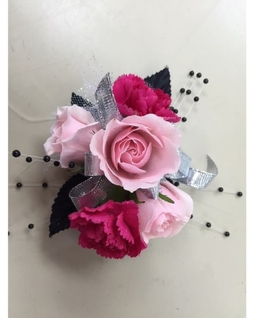 Shades of Pink Corsage