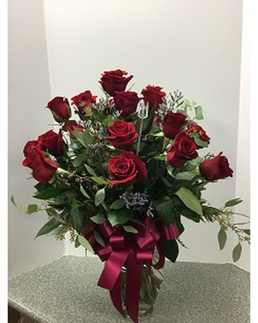 Large Rose Bouquet Flower Arrangement