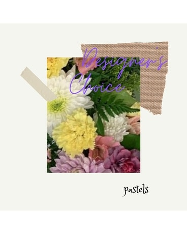 Designer's Choice - PASTELS Flower Arrangement