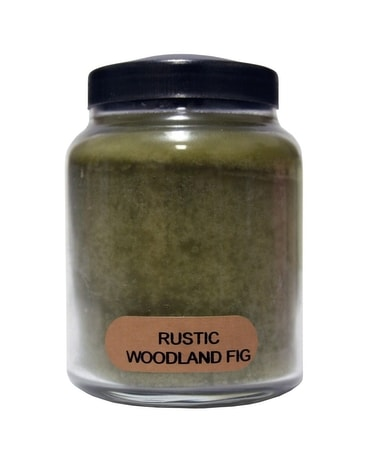 Rustic Woodland Fig Candle Jar Candle