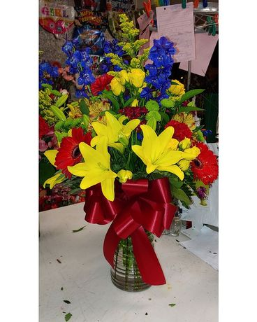 Designer's Choice Example 2 Flower Arrangement
