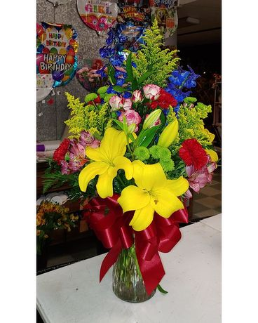 Designer's Choice Example 3 Flower Arrangement