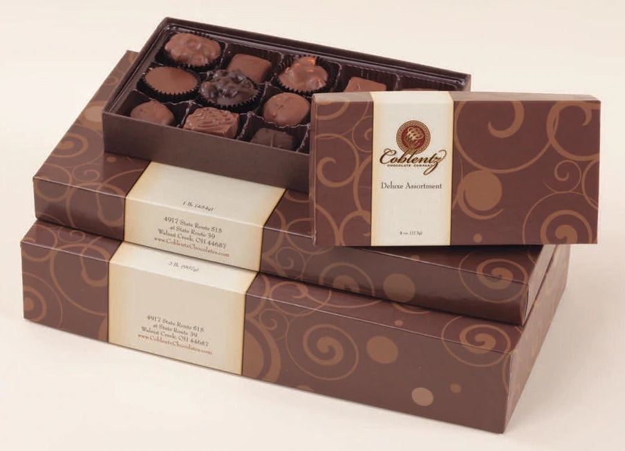 COBLENTZ DELUXE ASSORTED CHOCOLATES