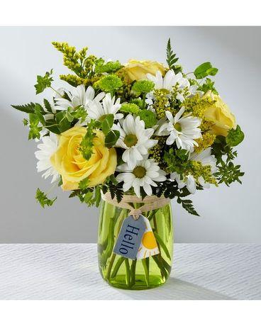 Spring bouquets delivery palm coast fl garden of eden hello sun bouquet mightylinksfo