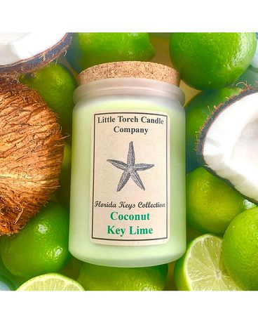 Coconut Key Lime Jar Candle