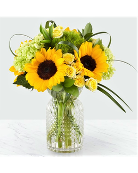 The Sunlit Days Bouquet Flower Arrangement