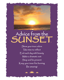Sunset Greeting Card Gifts