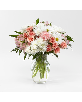 Blush Crush Bouquet Flower Arrangement