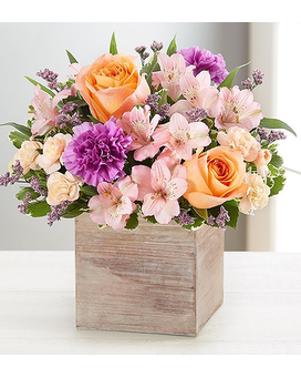 Chic Garden Flower Arrangement
