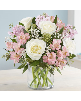 Elegant Blush Flower Arrangement