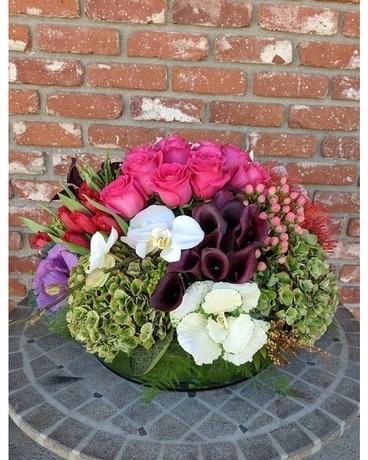 A Rhapsody Flower Arrangement