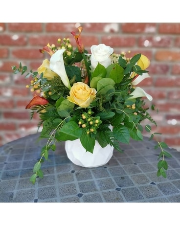 Summer Glow Flower Arrangement
