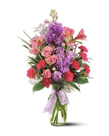 Teleflora's Fragrance Vase Flower Arrangement