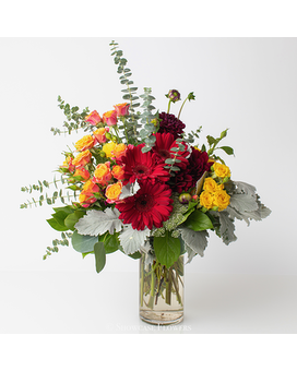 Bright and Fun Forever Flower Arrangement