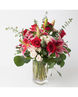 Charming Romance Flower Arrangement