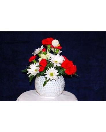 The Golfer Flower Arrangement