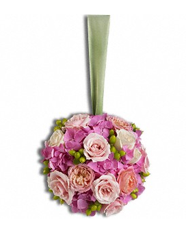 Precious Pomander Flower Arrangement