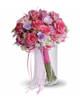 Fairy Rose Bouquet Flower Arrangement