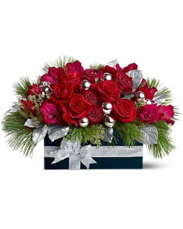 Gift of Roses Flower Arrangement