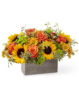 Gathered Garden Flower Arrangement