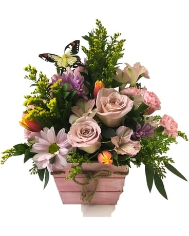 Welcome Spring Flower Arrangement