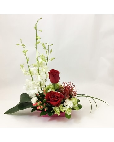Shimmering Romance Flower Arrangement
