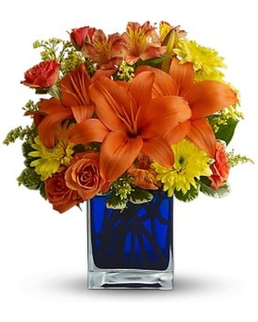 Teleflora's Summer Nights Flower Arrangement
