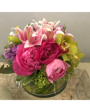 Playful Peonies Flower Arrangement