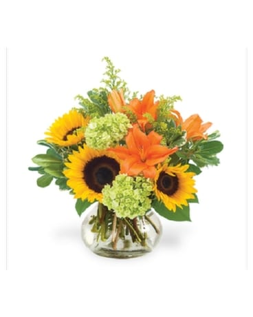 Beautiful Fall Day Flower Arrangement