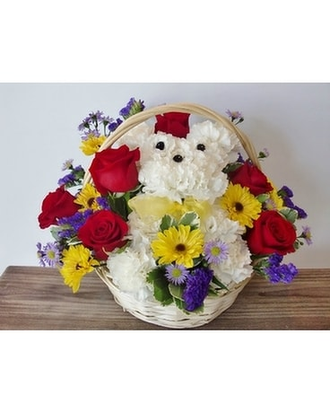 Dog-Able Bouquet Flower Arrangement