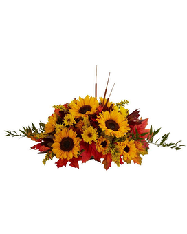 Golden Sunflowers Flower Arrangement