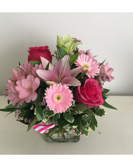Pretty In Pink (The Psychedelic Furs) Flower Arrangement