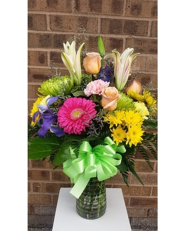 Mixed Spring Vase Custom product