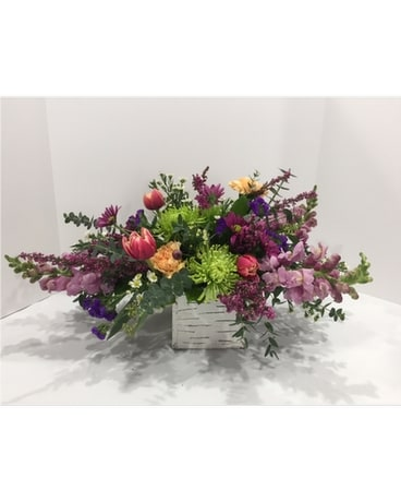Trailing Garden Centerpiece