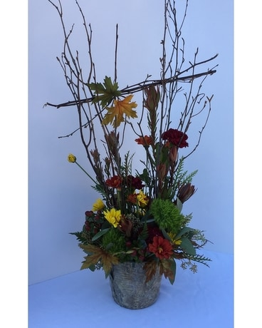 Autumn Woods Large Flower Arrangement